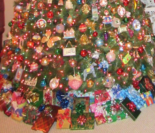 Our Christmas tree, 2011