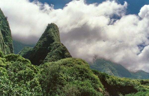 The ʻĪao Needle, Maui 1992
