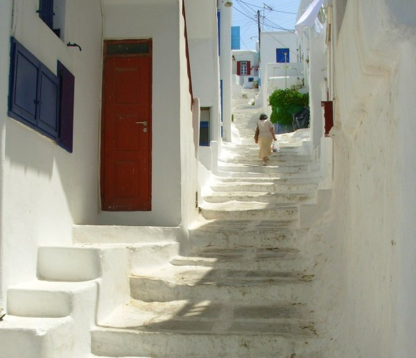 An afternoon in Mykonos, Greece, May 2008