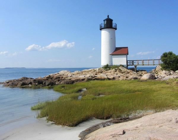 Annisquam Lighthouse, Cape Ann, Gloucester, Massachusetts, September  2012