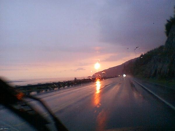 Eric's sunset photo