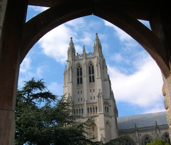 Washington National Cathedral, April 2005