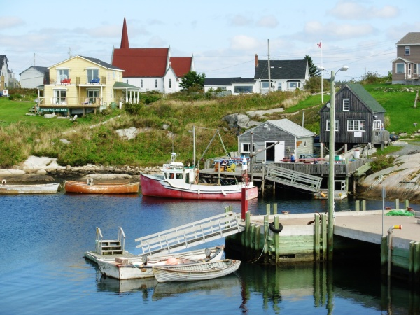 In September 2007 we visited the historic fishing village of Peggy's Cove, Nova Scotia