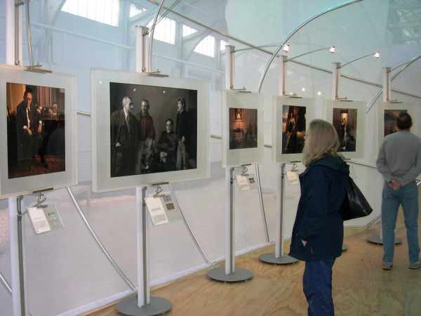 I enjoyed the stunning portraiture of Annie Leibovitz at a show in San Francisco, November 2003