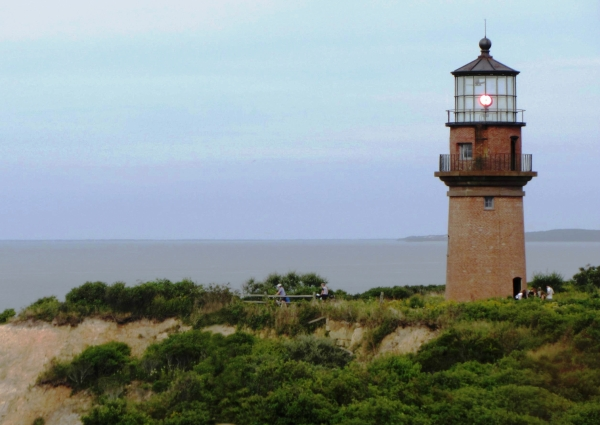 The Gay Head Lighthouse, Aquinnah, Martha's Vineyard Massachusetts, September 2012