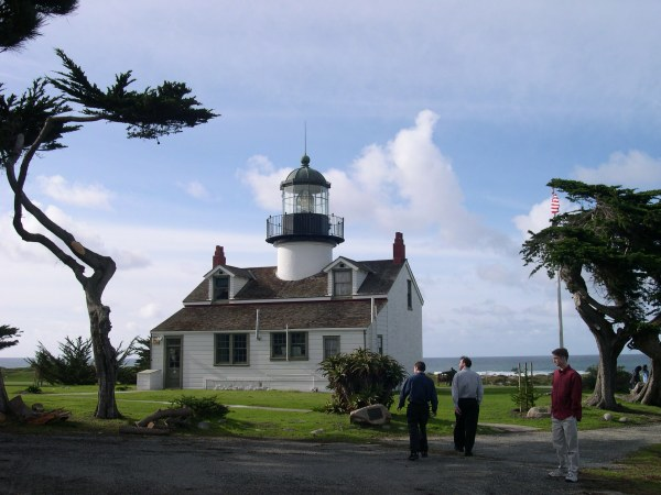 Point Pinos Lighthouse, Pacific Grove, California   December 2002