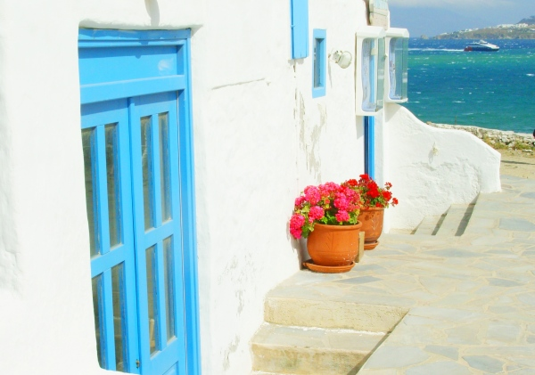 Doorway in Mykonos, May 2008