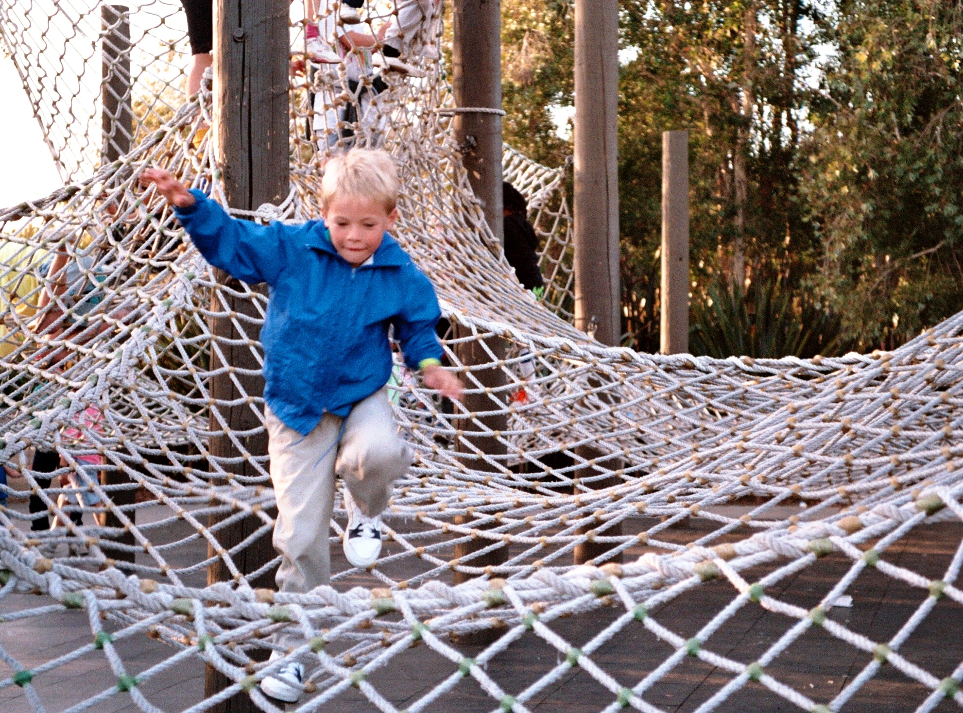 Drew at plan in San Diego, California, in the spring of 1991.