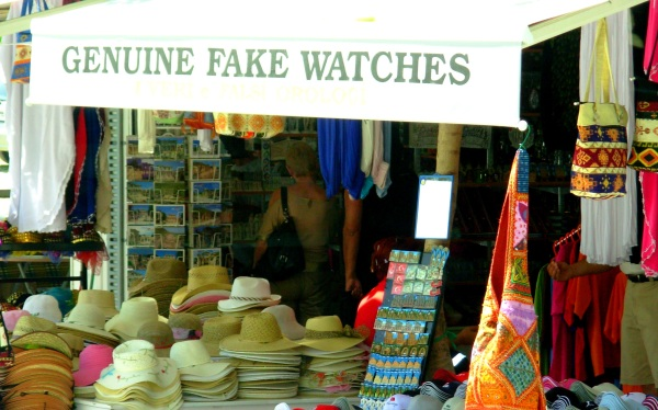 Genuine fakes Ephesus May 2008
