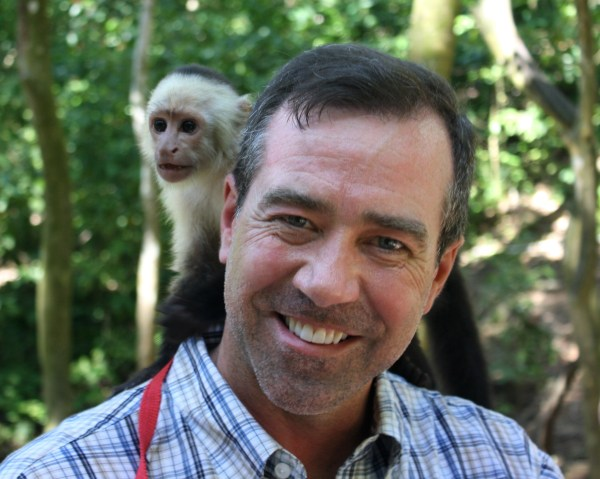 A day of merriment and monkey business in Roatan, Honduras, March 2011