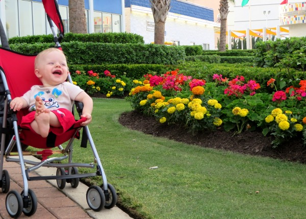 Grady celebrates his first June with MeMe and PaPa at the Virginia Beach Boardwalk, 2014.