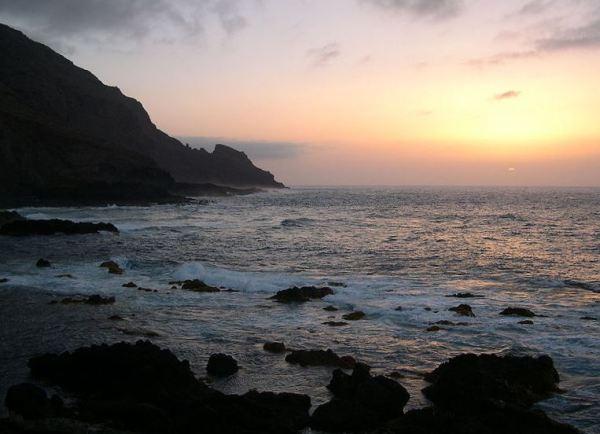 Sunrise over La Palma, Spain. Photo courtesy of Luc Viatour http://www.lucnix.be/