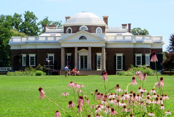 At Monticello, as elsewhere, Jefferson never ran out of ideas for improvement. Photographed in June 2014