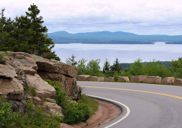 Slow down and enjoy the scenery! Bar Harbor, Maine, June 2012