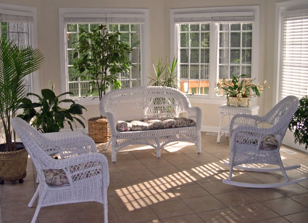 Our sunroom, York County, June 2005