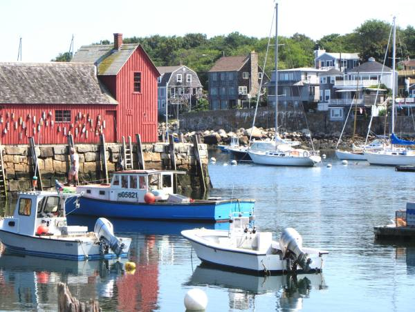 A perfect September day in Rockport, Maine, 2012