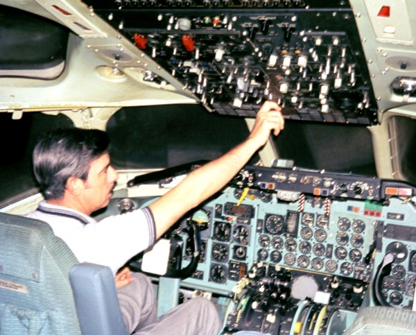 From the family archives, a photo of Daddy in flight training sometime in the mid -1960s.