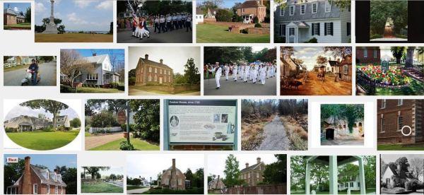 Yorktown historic district