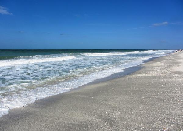 Captiva beach scene Jan 2014