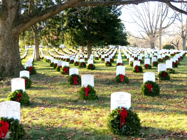 A lovely day at Arlington National Cemetery, December 2014
