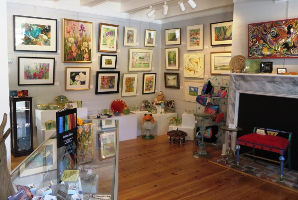 Yorktown garden stroll art gallery April 2015