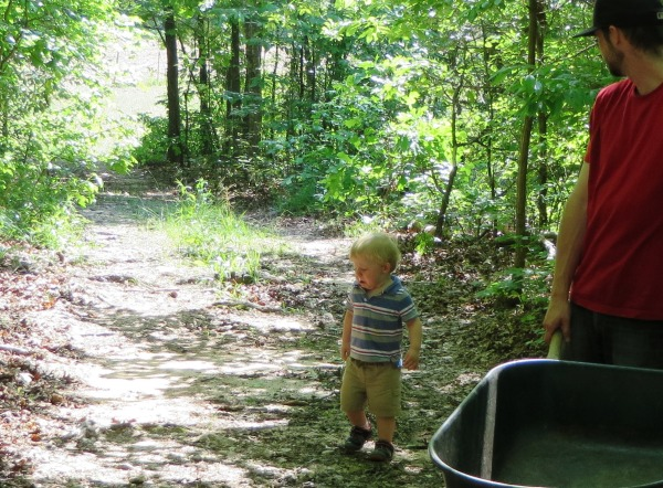 Grady was not happy when he couldn't see the goats.