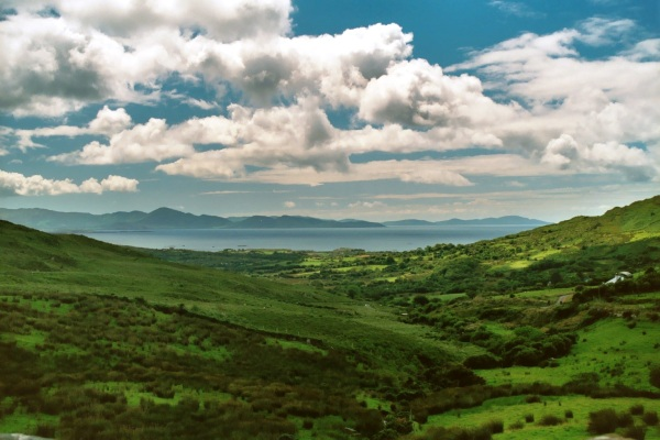 Ever been to Ireland? I haven't, but I hope to go someday. This public domain photo of the Ring of Kerry is by Christian Menz, via Wikimedia Commons.