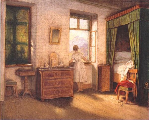 Morning Hour by Moritz von Schwind, Public domain, via Wikimedia Commons