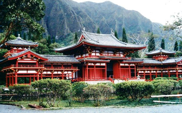 The incomparable Valley of the Temples, Oahu, Hawaii, 1994