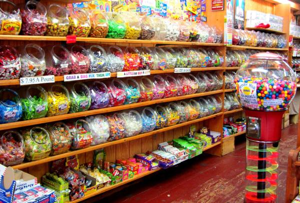 This New England candy store looks almost as enticing as a library. September 2012