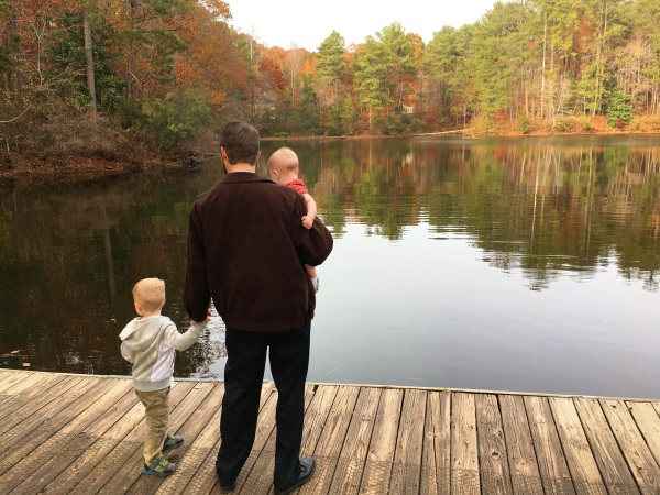 One of Jeff's last gifts to Drew and his family was a membership to the Chattahoochee Nature Center. Here they are, on their first visit after Jeff's death. November 2016